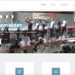 Screenshot der neuen Internetseite des RWK-Onlinemelders